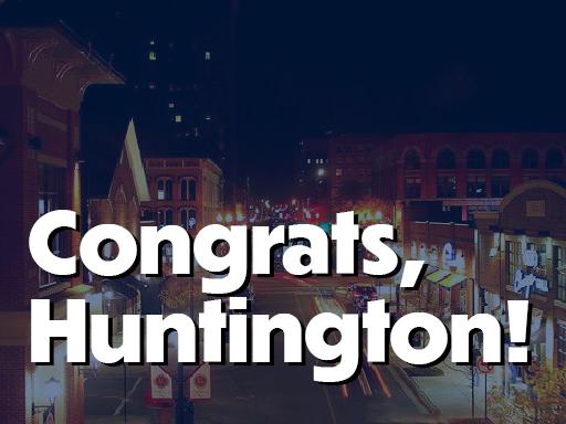 Congratulations, Huntington!