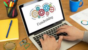 Online fundraising graphic